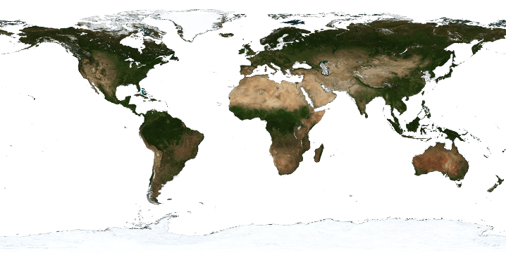 Gaisma Planet - Interactive Climate and Environment Imagery